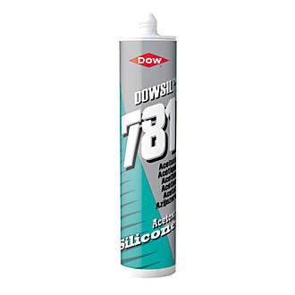 Dow 781 Acetoxy Silicone Sealant Clear 310ml General Purpose Sealants Screwfix Com