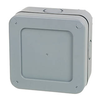 British General Ip66 57a 5 Terminal Weatherproof Outdoor Junction Box 90 X 60 X 60mm Outdoor Junction Boxes Screwfix Com