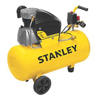 Electric Air Compressor >> Stanley Fcdv4g4scr006 50ltr Electric Air Compressor 240v