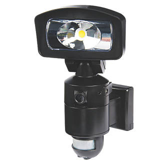 Nightwatcher ne400b 16w led security light camera pir black 4gb nightwatcher ne400b 16w led security light camera pir black 4gb cctv cameras screwfix aloadofball Image collections