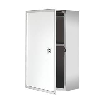 Bathroom Medicine Cabinets.Croydex Lockable 1 Door Bathroom Medicine Cabinet 250 X 130 X 400mm
