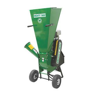 Mighty Mac Sc800ex 205cc Hammermill Petrol Chipper Shredder Garden Shredders Fix