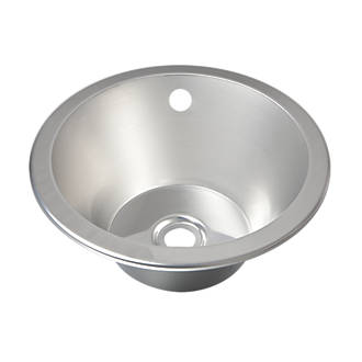Franke Round Inset Sink Stainless Steel