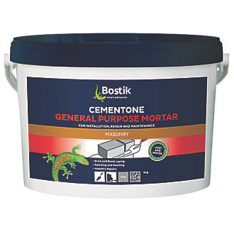 Cementone General Purpose Mortar Grey 5kg Ready Mix Cement Screwfix Com