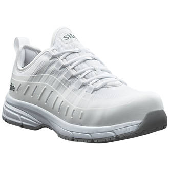 Site Trona Metal Free Safety Trainers White Size 8