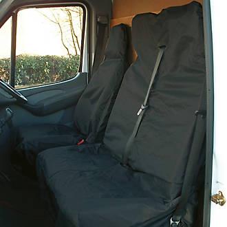 Van Seat Covers >> Maypole Van Seat Covers Black 2 Pack