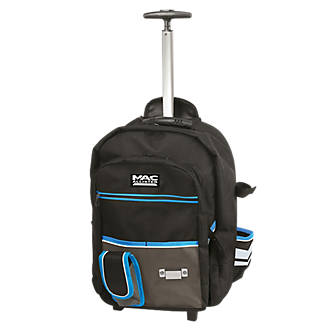 acb6ba8766 Mac Allister Hard Base Backpack with Wheels 19