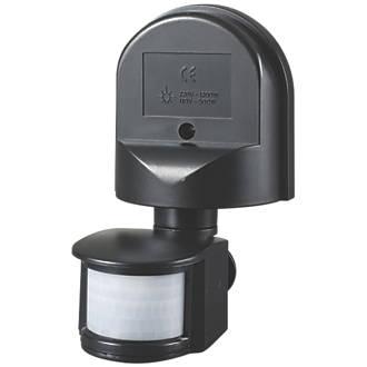 Zinc Outdoor Pir Sensor 180 Motion Sensors Screwfix Com