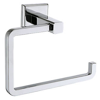Moretti Linear Toilet Roll Holder Chrome Holders Fix