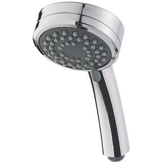 held white pause shower hand heads spoiler ii