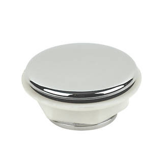 Tap Hole Stopper 25mm Chrome Plated Wastes Screwfix Com
