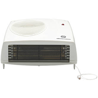 Wall Mounted Fan Heater 2000W 229 x