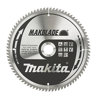 Makita tct circular saw blade 260 x 30mm 80t circular saw blades makita tct circular saw blade 260 x 30mm 80t circular saw blades screwfix greentooth Images