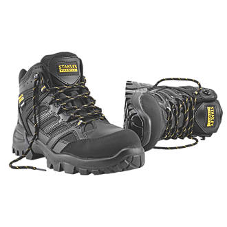 5a1dd504a5d Stanley FatMax Ontario Safety Boots Black Size 10