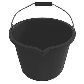 Active Plastic Buckets 14ltr 5 Pack Buckets Screwfix Com