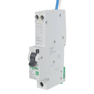 Admirable Schneider Electric Easy9 16A 30Ma Sp Type B Rcbo Rcbos Screwfix Com Wiring 101 Capemaxxcnl