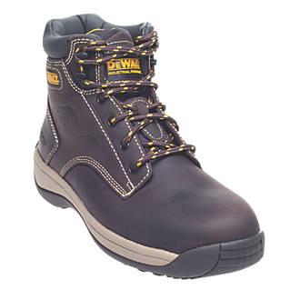 3339f37dcae DeWalt Bolster Safety Boots Brown Size 11