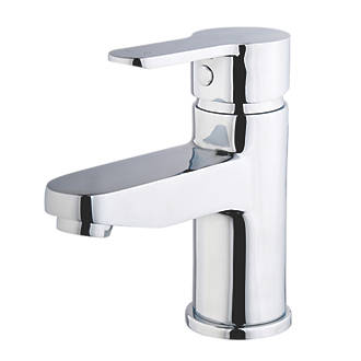 Swirl Elevate Eco Basin Mono Mixer Bathroom Tap With Pop Up Waste