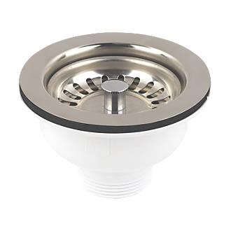 mcalpine stemball sink strainer waste wastes screwfixcom - Sink Strainer