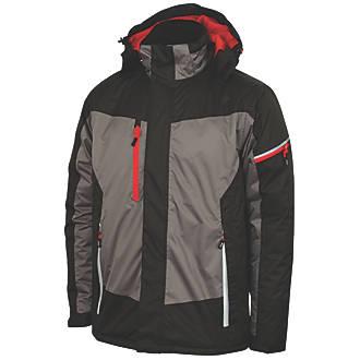 e8d0a0684d66d Lee Cooper LCJKT446 Padded Jacket Black / Grey X Large 44