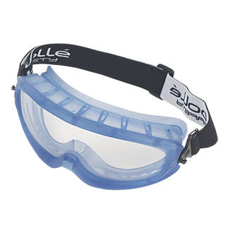 Bolle Atom Unisex Safety Goggles Polycarbonate Clear Lens Eye Protection Glasses