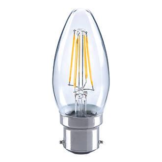 LAP BC Candle LED Light Bulb 470lm 5.9W