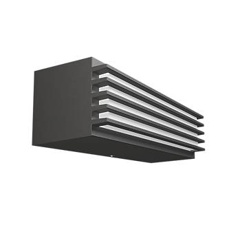 Philips pitchfork graphite outdoor wall light 500lm 45w outdoor philips pitchfork graphite outdoor wall light 500lm 45w outdoor wall lights screwfix aloadofball Image collections