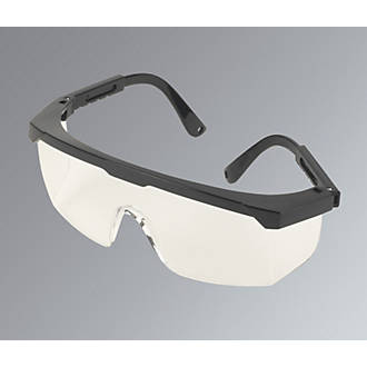 47700f30bc65 Wraparound Clear Lens Safety Specs | Safety Glasses | Screwfix.com