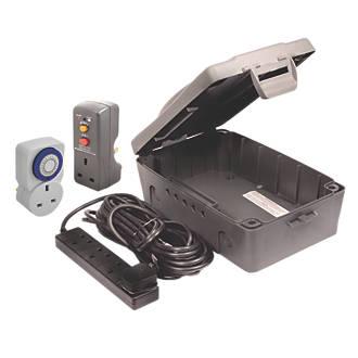 Masterplug Weatherproof Box Kit