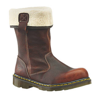 Dr Martens Rosa FurLined Ladies Safety Rigger Boots Teak Size 5 | Rigger  Boots | Screwfix