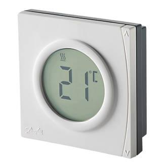 Danfoss Ret2000ms Digital Room Thermostat 230v White Wireless