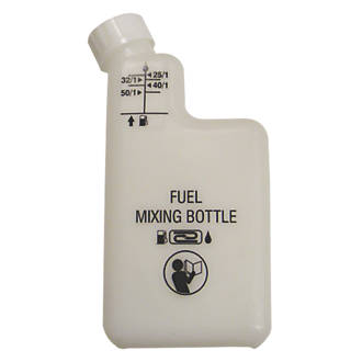 No Nonsense HP-120 2-Stroke Engine Oil Mixing Bottle | Oils & Additives | Screwfix.com