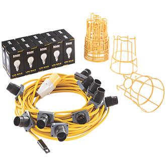 Defender 22m LED ES Site Festoon Kit c