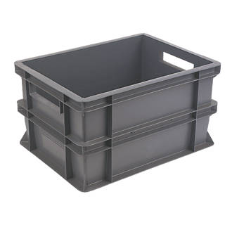 20ltr Euro Container 400 X 300 X 220mm Storage Boxes Screwfix Com