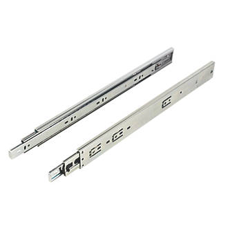 Soft Close Ball Bearing Drawer Runners 450mm 2 Pack Fix