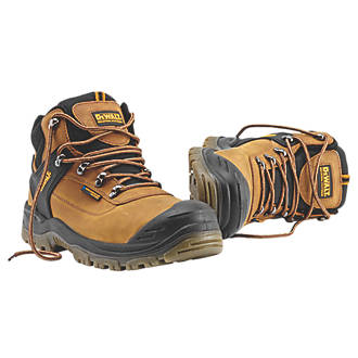 ace0a5cde61 DeWalt Phoenix Safety Boots Tan Size 8