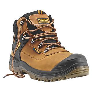bc619d7e920 DeWalt Phoenix Safety Boots Tan Size 8