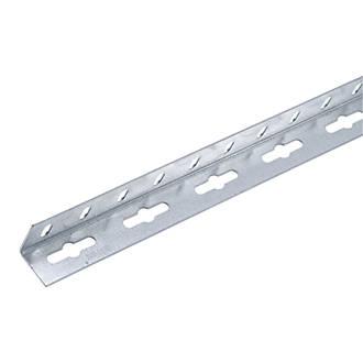Alfer Galvanised Steel Equal Angle 1000 x 23 5 x 23 5mm