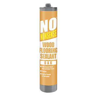No Nonsense Wood Flooring Sealant Oak 310ml Flooring Sealants