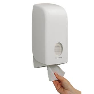 Kimberly Clark Professional White Aquarius Folded Toilet Tissue Dispenser