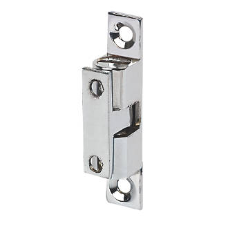 Double Ball Cabinet Catches Chrome Plated 42 X 8mm 10 Pack Latches Fix