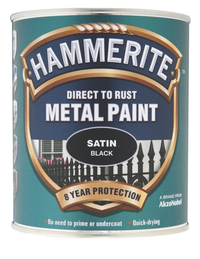 Oh look!! Hammerite now comes in Satin Black 50899_P