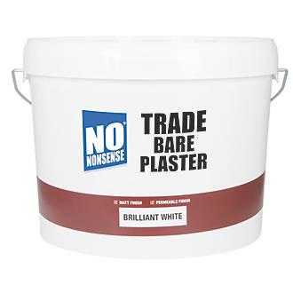 No Nonsense Trade Bare Plaster Paint Brilliant White 10Ltr