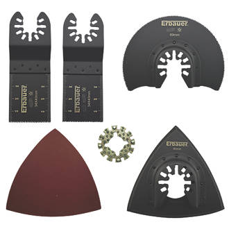 Erbauer Multi-Tool Accessory Kit 15 Pcs