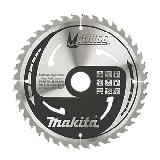 Makita tct circular saw blade 210 x 30mm 40t circular saw blades makita tct circular saw blade 210 x 30mm 40t circular saw blades screwfix greentooth Images