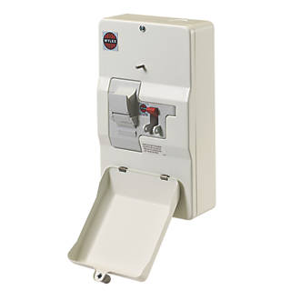 Wylex 100A Domestic Switch Fuse Unit   Domestic Consumer Units ...