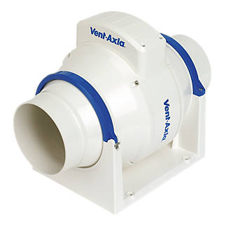 Vent Axia Acm100t 21w In Line Bathroom Extractor Fan Fans Fix