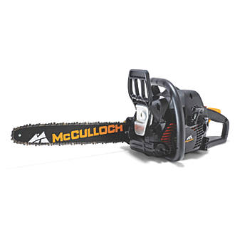 Mcculloch cs 400t 40cm 40cc petrol chainsaw chainsaws screwfix keyboard keysfo Choice Image