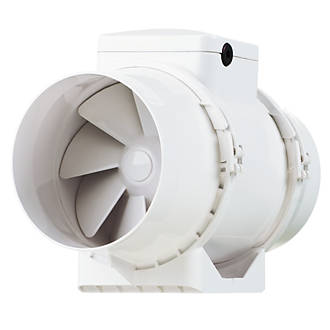 Xpelair Ximx100 33w In Line Mixed Flow Extractor Fan Bathroom Extractor Fans Screwfix Com