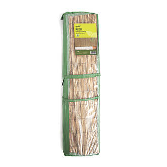 waitrose garden creations plcid corner set natural reed tools bamboo screening products trellis